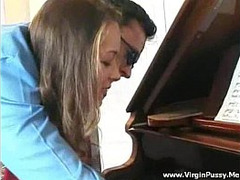 girls Fucking, Piano, Sexy Teachers