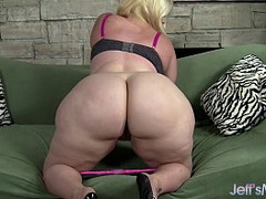 Huge Butt, fat, Blonde, Bbw, Giant Dildo, Big Ass, Hd Top Model, Orgasm, Perfect Ass, Perfect Body Milf
