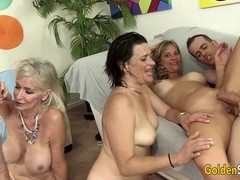 Granny Cougar, Mature Group Sex, sex Party, Perfect Body Amateur Sex