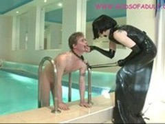 Huge Ass, Butthole Licking, Dressed Cunt Fucking, female Domination, Latex, Pussy Eat, Perfect Ass, Perfect Body Anal, Pool