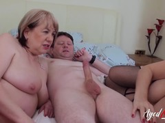 Threesome, British Lady, Uk Unprofessional Threesome, Uk Mature Ladies, British Mature Amateurs, british, Hardcore Fuck Hd, hard Core, women, Surprise Threesome, UK