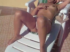 Fat, Hot Wife, Perfect Body Amateur Sex, vagin, Stroking, Sunbathing, Milf Housewife