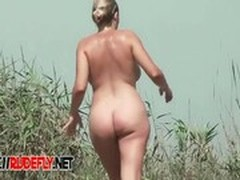 Plajă, Prins, Exhibiționist, Nudist, Corp Perfect, Voyeur