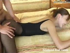 fucked, Leotard, Pantyhose