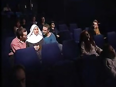 Babes Fucked in Movie Theater, Perfect, Watching, Caught Watching Lesbian Porn, Perfect Body Fuck