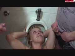 Whore Abuse, German Porn Sites, German Piss Orgy Hd, Girls Peeing Toilet, peeing, Amateur Whore