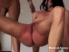 BDSM, Fetish, Lezdom, Painful Fuck, Whip, Wrestling, Amateur Dildo Orgasm