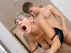Grandma Orgy Sex Video