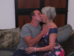 Granny Cougar, hole, Very Tight Pussy, Huge Cock Tight Pussy