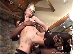 Interracial, squirting, Perfect Body Anal